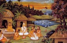 The World as seen by Upanishadic Seers