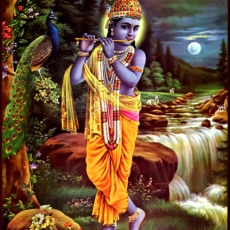 Kṛṣṇa | Krishna with flute