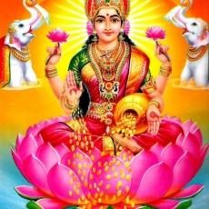 Lakṣmī | Lakshmi with elephants